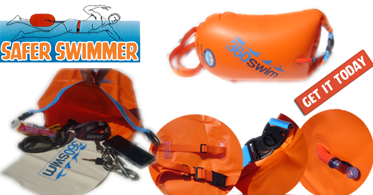 Buy Safer Swimmer Float And Dry Bag Be Safe During Your